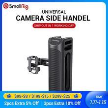 SmallRig DSLR Kamera Hand Grip Aluminium Universal Side Griff W/Montage löcher & kalten schuh fr Mikrofon DIY Optionen 2425
