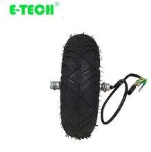 E-tech BLDC 24 В/36 В/48 в 350 Вт/500 Вт/800 Вт 13-дюймовый электрический скутер колесный двигатель