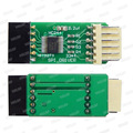 SPI Fahrer ICSP Verbesserte Adapter Board für Minipro TL866II Plus USB Programmierer SPI Flash in Circuit Programmierung Adapter