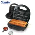 Электрическая вафельная колбаса машина хрустящая хот-дог палочка колбаса машина торт машина для завтрака сковорода машина Sonifer