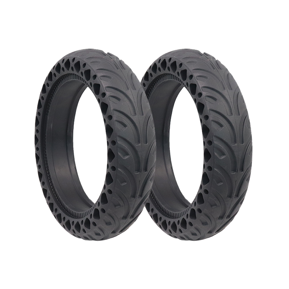 New 8.5 Inch Rubber Tire For Xiaomi MI Mijia M365 Electric Scooter Solid Hole Shock Absorber Non-Pneumatic Anti-slip Tyre Wheel