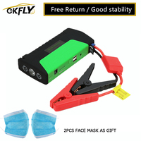 GKFLY High Power Emergency  Jump Starter 600A Multifunction Portable Power Bank 12V Car Battery Booster Starting Device Cables|charger for|charger for car|charger for car battery -