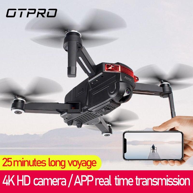 X6G pliable 4K HD caméra Drone GPS RC hélicoptère moteur sans brosse suite positionnement Altitude maintien FPV gestes quadrirotor