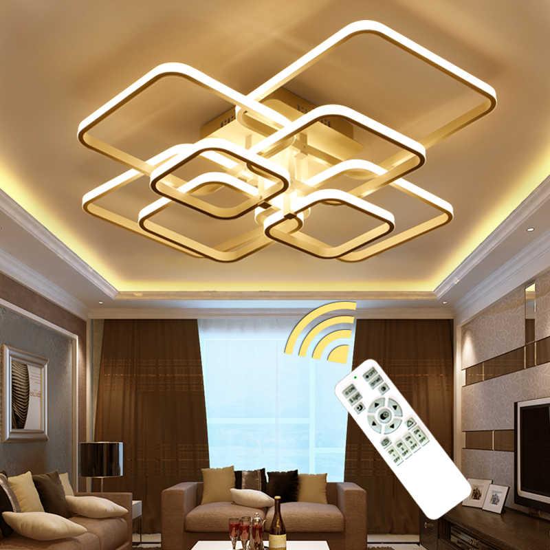 Modern LED Ring Chandelier illumination For Living Room Fixture LED  Lustre Dinning Room Bedroom Chandelier Indoor Home Lighting