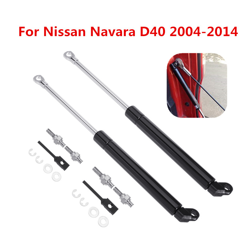1Pcs/2Pcs Car Rear Liftgate Tailgate Slow Down Trunk Gas Spring Shock Strut Lift Support Bar Rod For Nissan D40 Navara 2004-2014
