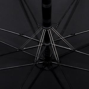 Image 5 - Guarda chuva grande paraquase, guarda chuva para homens e mulheres, dupla camada de prova de vento, 8 aro de madeira, cabo longo, guarda chuva automático forte