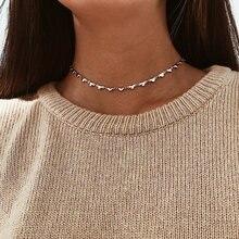 Модный чокер с маленьким сердцем ожерелье для женщин Подвеска