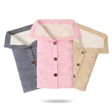 Baby Sleeping Bags Winter Warm Knitted Footmuff for Stroller Sleepsacks 0-6M Newborn Bebes Swaddle Wrap Envelopes Autumn Blanket