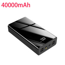 100% New Power Bank 40000mah Large Capacity for Xiaomi Power