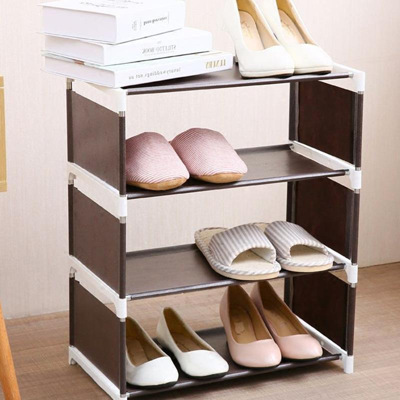 Shoe Cabinet Shoe Rack Multi-Storey Shoe Shelf Creative Assembly Convenient Household Supplies Home Organization Housekeeping