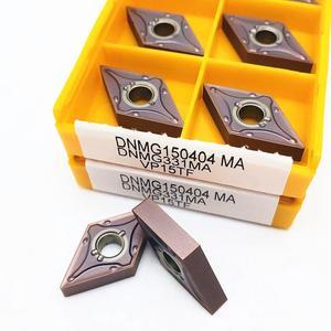 Image 4 - Твердосплавная вставка DNMG150404 MA VP15TF UE6020 US735, режущий инструмент, высококачественный токарный инструмент с ЧПУ DNMG 150404, фрезерный токарный инструмент, 10 шт.