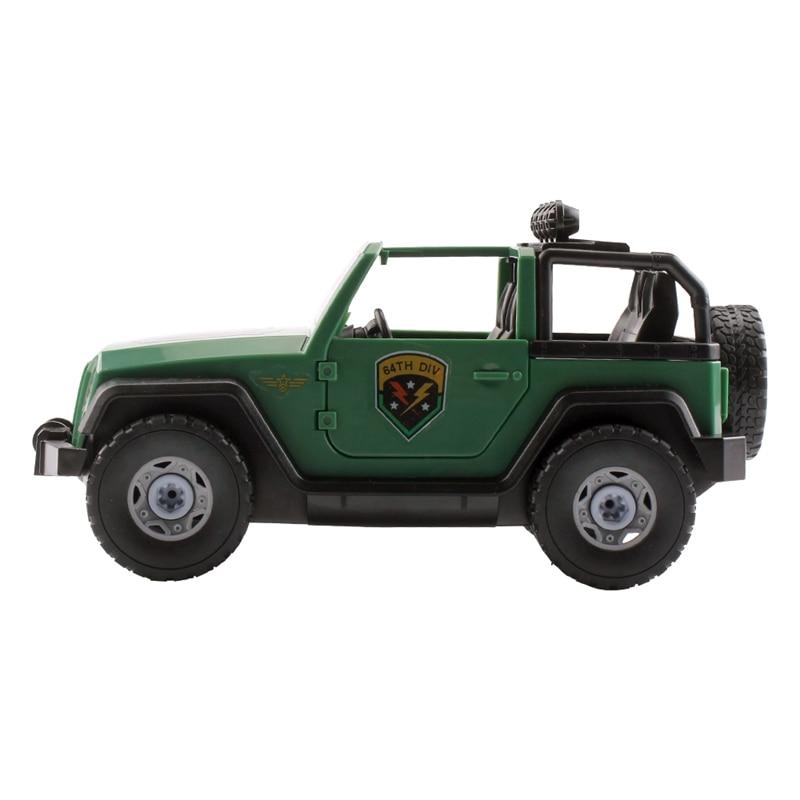 Montagem suv brinquedo do carro, destacável carga