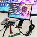 Сенсорный модуль kit1280x800  10 1-дюймовый дисплей  IPS HDMI ЖК-модуль  автомобильный Raspberry Pi 3 10 точечный емкостный сенсорный монитор