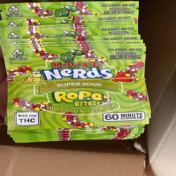 100pcs  nerds  rope medicated Zip lock Pouches Aluminum Mylar  Bags free shipping 00 zip page 1