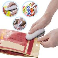 Quente melhor portátil mini seladora de calor máquina do agregado familiar capper alimentos saver para sacos de plástico pacote mini gadgets