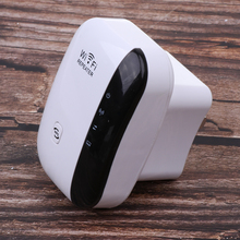 Fast Shipping Wireless WiFi Range Extender Router Reapter 300Mbps WiFi Amplifier 802.11 Wireless Signal Booster WiFi Booster