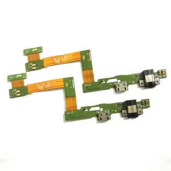 USB Charging Dock Connector Port Flex Cable Headphone Jack For Samsung Galaxy Tab A 9.7 T555 SM-T555 T550 P550 P555 image