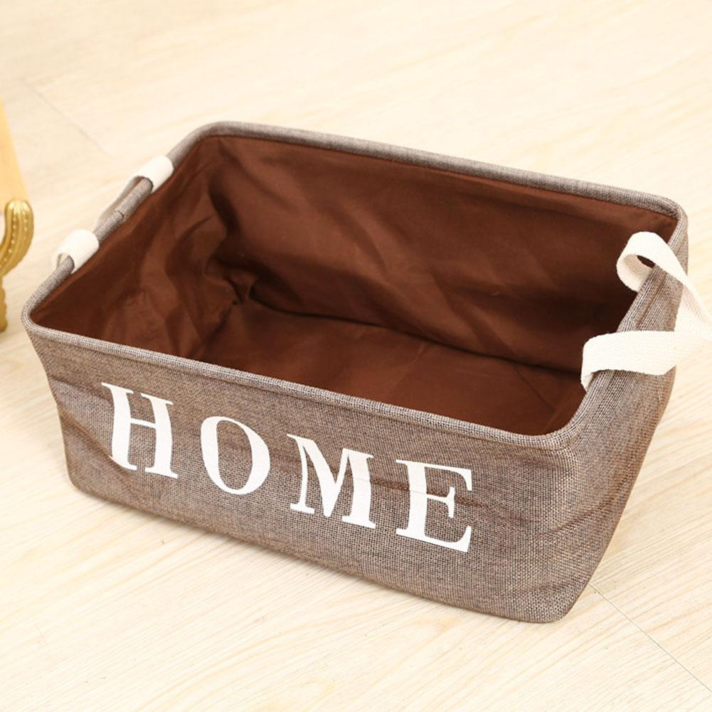 1Pc Foldable Dual-layer Laundry Basket Dirt Clothes Toy Storage Large Capacity Lovely Bucket Organizer Bag