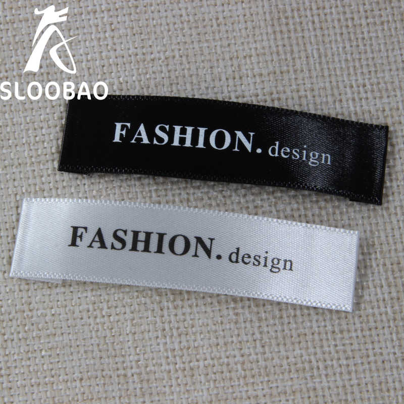 Custom Clothing Tags Apparel Labels For Handmade Items Pink Organic Labels Sewing And Knitting Tags 50 Custom Satin Clothing Labels