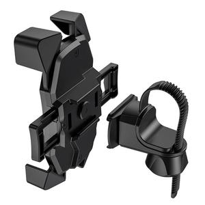 Image 4 - HOCO CA58 tek tuşla kilitleme bisiklet telefon tutucu motosiklet montaj standı destek Dropshipping