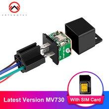 Fahrzeug Tracker Neueste Version MV730 ACC Tow Alarm Relais GPS Tracker Auto Cut Off Öl Auto Arm Geofence 6- 40V Mini GPS Tracking
