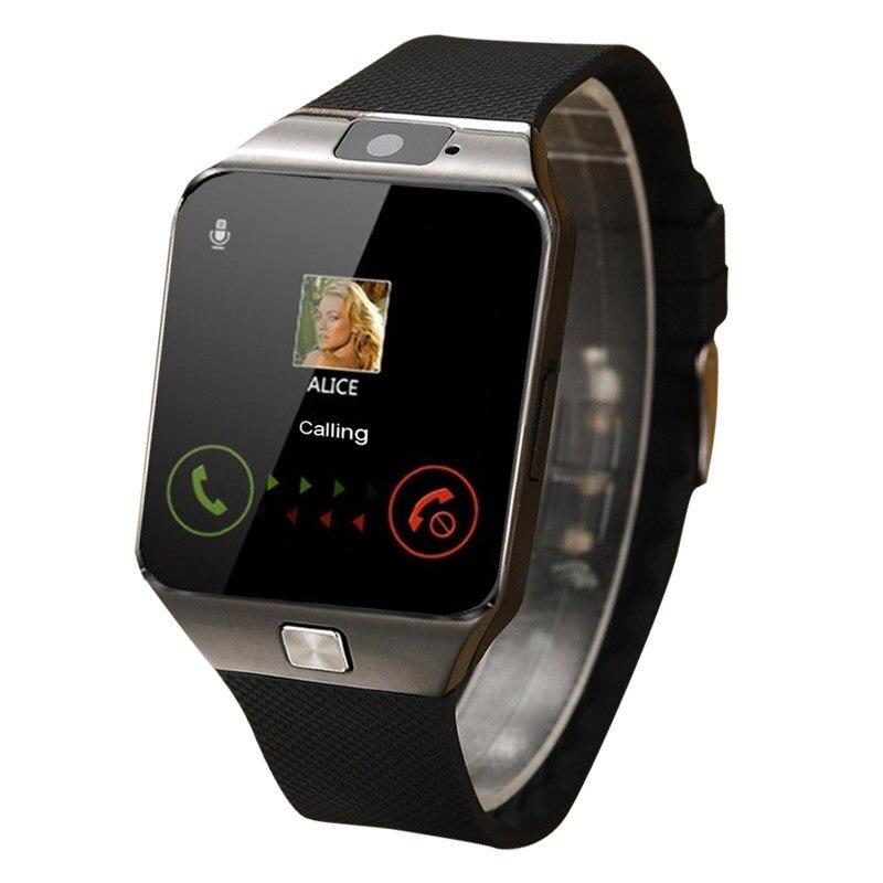 Superior da Tela de Toque Inteligente Relógio Dos Homens Do Esporte Do Bluetooth Smartwatch reloj inteligente Música Chamando mulheres relógio Inteligente Para iphone Android