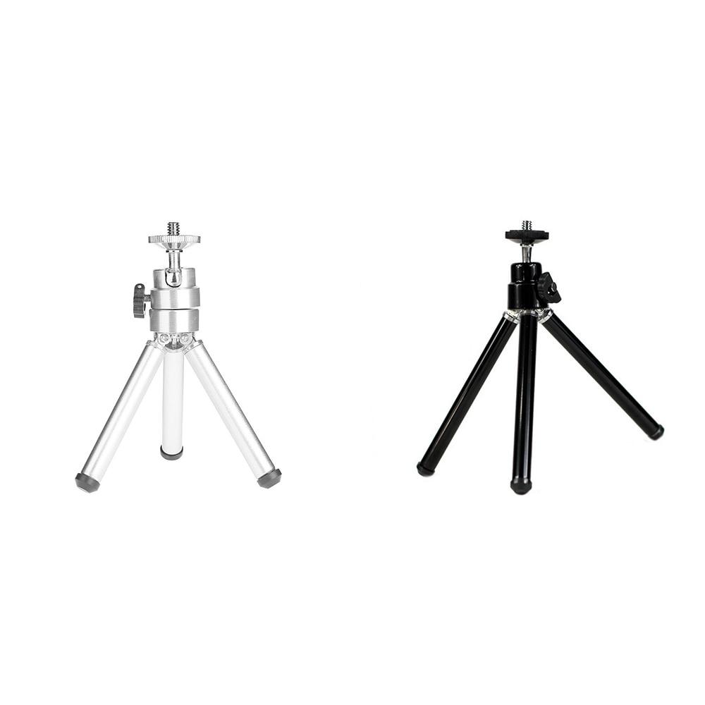 1 шт. мини алюминиевый сплав Настольный Штатив 3 секции стенд держатель для проектора камеры