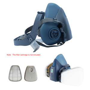 Image 3 - 3M 7502 Half Face Respirator Painting Spraying Gas Mask Chemcial Safety Work Gas Mask Proof Dust Facepiece Respirator Mask