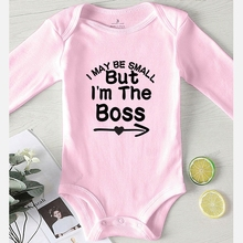 Boss Baby Things Rompers Outfit Toddler Newborn Girl Infant Winter Kids' I'm The Boy