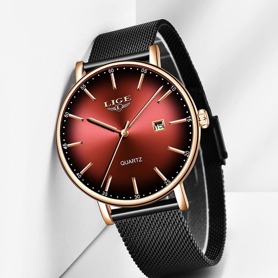 Hb2e226c519c5436aae48034f1305d894M LIGE Fashion Mens Watches Top Brand Luxury Blue Waterproof Watches Ultra Thin Date Simple Casual Quartz Watch Men Sports Clock