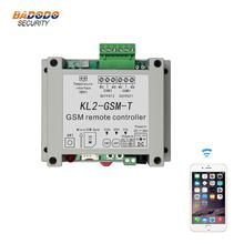 GSM remote relay controller switch access controller KL2 GSM T with 2 relay output one NTC temperature sensor