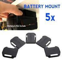 Soportes de batería de 5x18 V soporte de almacenamiento ranuras estante soportes para Makita BL1860B BL1850B BL1860 BL1850