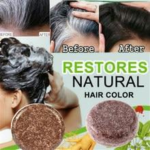 1 stücke haar verdunkelung shampoo natürliche organische conditioner und reparatur schnelle verdunkelung