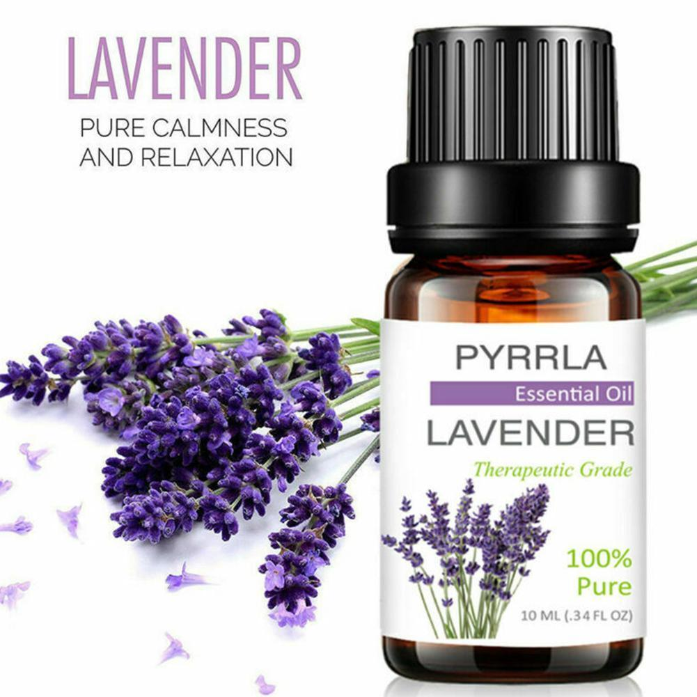 10ml Lavender Essential Oils With Aromatic Aromatherapy Boday Oil Essential Fragrance Oil Massage Oil Lavender For Diffuser I2K6