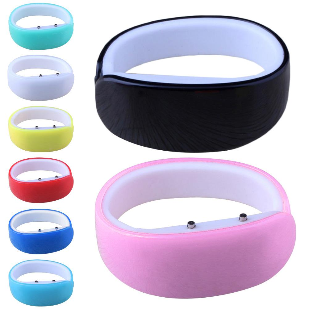Couple Watch Dolphin Shape Candy Color Waterproof Electronic Sports LED Bracelet Student Kids Gift Reloj Pareja Hombre Y Mujer
