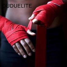 2PCS 1.5/2/3/5M Boxing Sports Wraps Bandage Kick Boxing Mma Muay Thai Hand Wrap Belt Combat Training Handguard Elastic Bandage