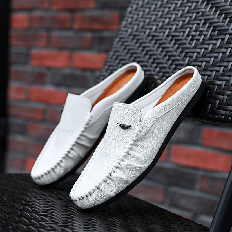 2020 Fashion Driving Shoes Men Flats Slip On Loafers Italian Breathable Flat Shoes Men Casual Shoes Zapatillas Hombre Plus Size