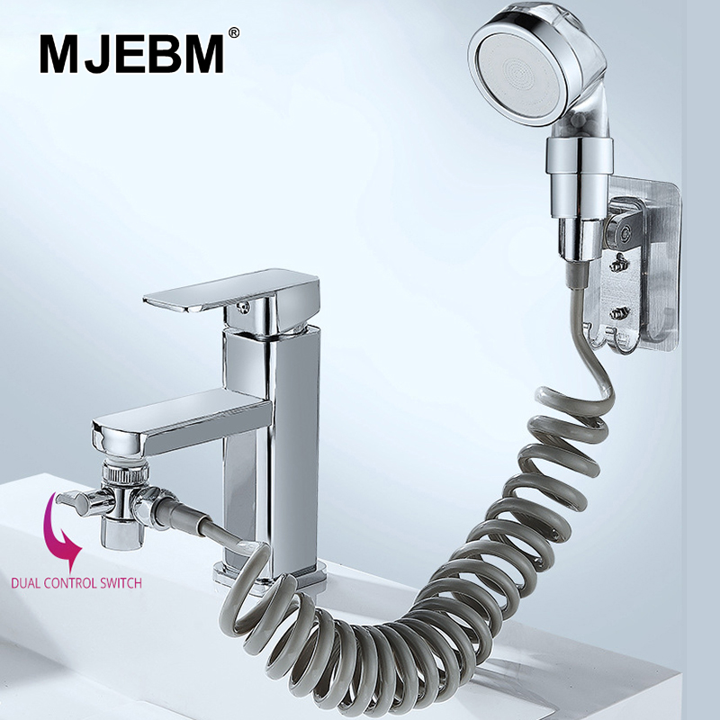 Basin Faucet External Shower Head Bathroom Handheld Washing Hair Artifact High Pressure Water Saving Wash Hair Shoer head