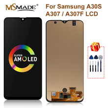 SUPER AMOLED For SAMSUNG GALAXY A30S A307H/DS A307F LCD Display Touch Screen Digitizer Replacement Parts For Galaxy A30S LCD