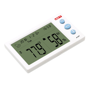 Image 3 - UNI T A13T Digital LCD Thermometer Hygrometer Weather Station Instrument Room Temperature Humidity Meter Alarm Clock
