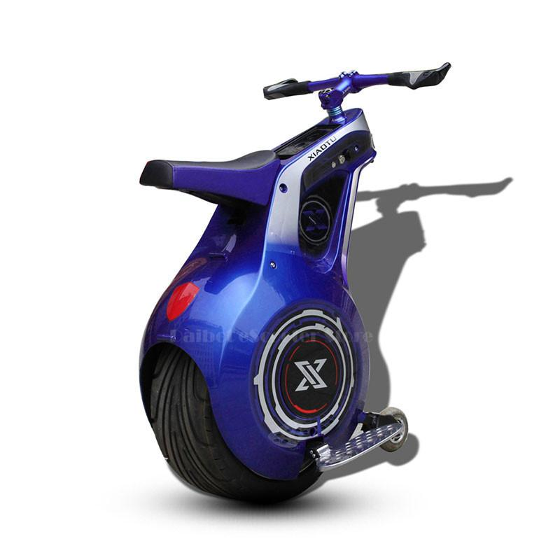 19 INCH Adult Electric Motorcycle 800W 60V One Wheel Portable Electric Balance Scooter With Seat APP