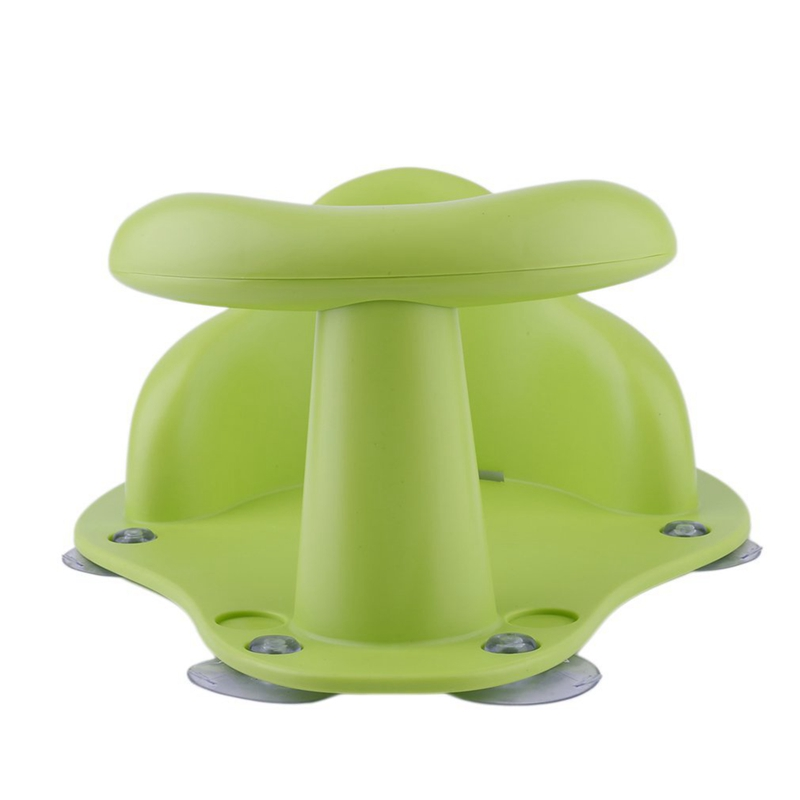 Baby Bath Tub Ring Seat Infant Child Toddler Kids Anti Slip Safe Chair,Green