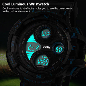Image 3 - New Sport Men Digital Watch Cool Luminous Watches Men Sport Fitness Timer Watches Clock Alarm Clock Hourly Chime reloj de hombre