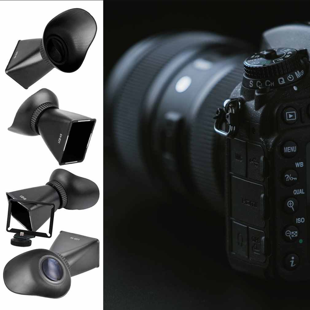 V3 3:2 SLR كاميرا LCD عدسة الكاميرا المكبر التوسع غطاء شاشة LCD كاميرا مكبرة عدسة الكاميرا ظلة
