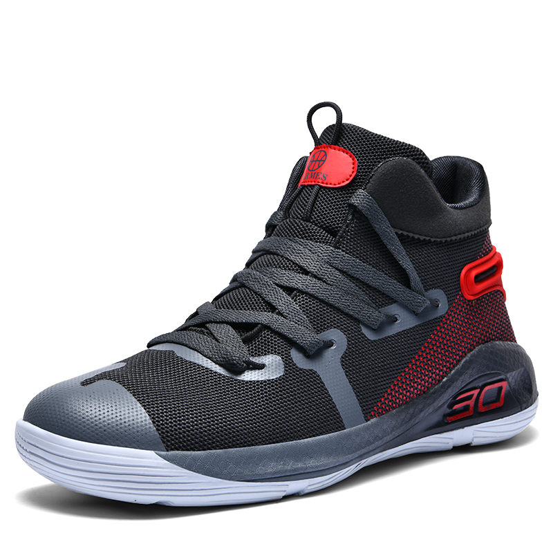 US $25.88 40% OFF|High Top Mens Basketball Shoes Curry 4 Sneakers Men Li Ning Basket Shoe Lebron Shoes Tenis Kyrie 5 Sneaker Bambas Hombre Curry 6 on