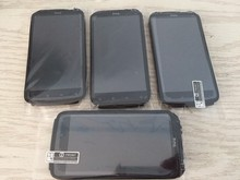Original Black Full LCD Display& Touch Screen+Front Frame  For HTC Sensation 4G  Z710E  Free Shipping стоимость