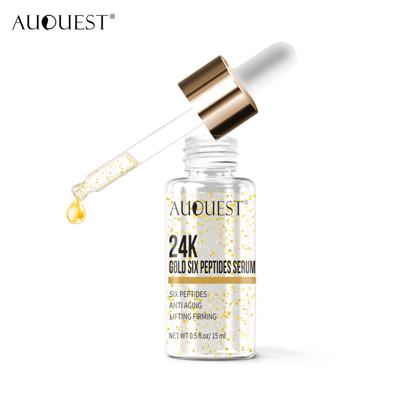 AUQUEST Skin Care Set Hyaluronic Acid Serum Peptide Face Cream Set Facial Eyes Essence Cream Anti-wrinkle Anti-aging Skin Care