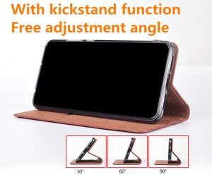 Image 2 - High end lizard pattern natural leather case card slot holder for Xiaomi Mi A3/Xiaomi Mi A2/Xiaomi Mi A1 magnetic phone case
