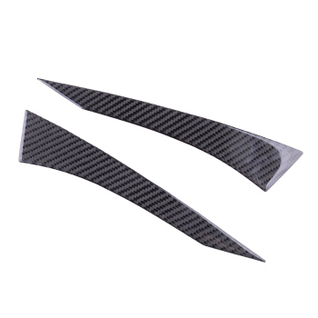 1 Pair Rearview Side Door Wing Mirror Strips Trim Cover Fit for Subaru BRZ Toyota 86 2013 2014 2015 2016 2017-2020 Carbon Fiber image