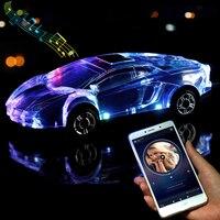 Modelo de carro bluetooth alto falante estéreo forma do carro suporte usb tf cartão mp3 mp4 jogador música baixo presentes do miúdo para o telefone pc|Subwoofer| |  -
